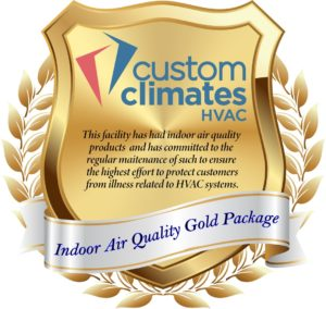 Custom Climates IAQ Badge